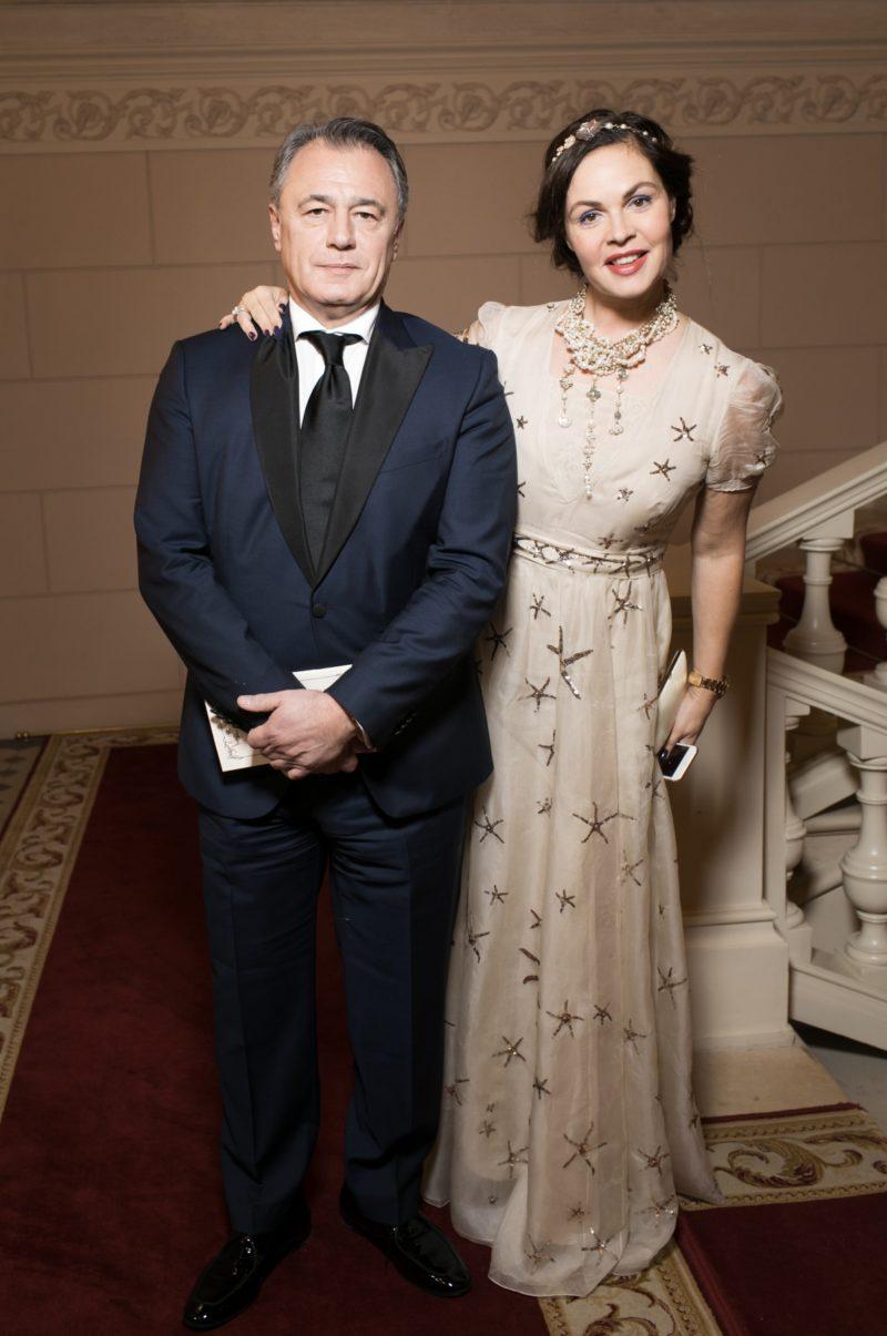 Екатерина Андреева с мужем Андреем Назаровым