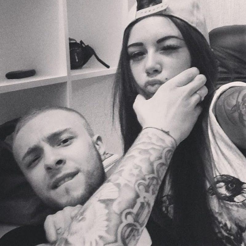 Егор Крид с Дианой Мелисон