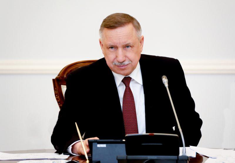 Александр Беглов член Единой России