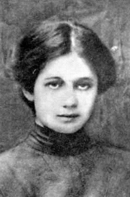 Анна Ахматова в юности