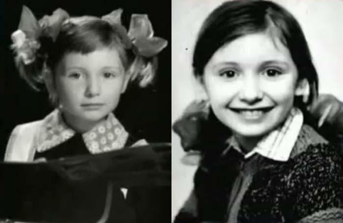 Диана Арбенина в детстве