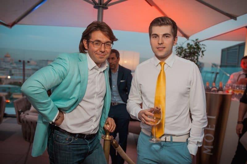 Дмитрий Борисов с Андреем Малаховым