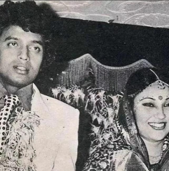 Митхун Чакраборти с женой Хеленой Люк