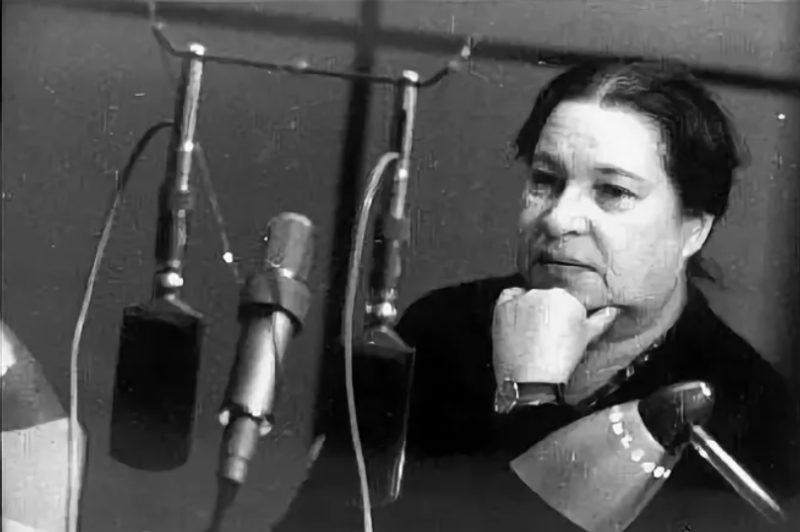 Агния Барто на радио