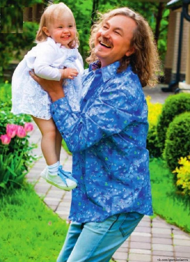 Игорь Николаев с дочкой Вероникой