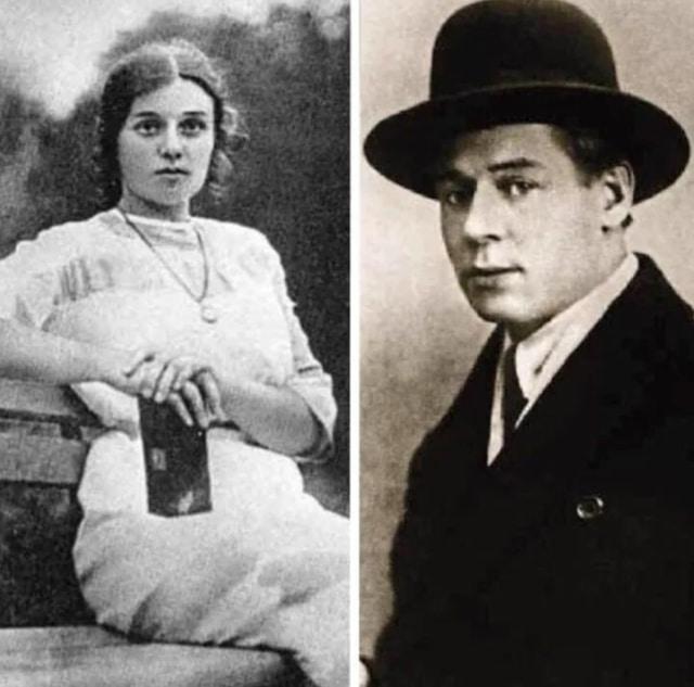 Сергей Есенин и Августа Миклашевская
