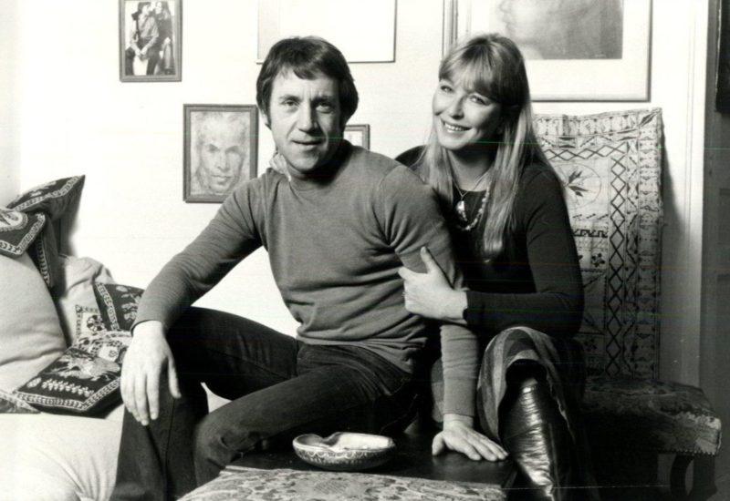 Владимир Высоцкий с последней женой Мариной Влади