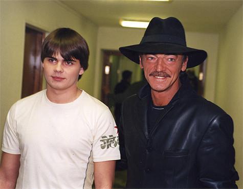 Михаил Боярский с сыном Сергеем