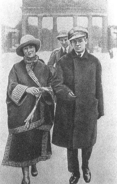 Сергей Есенин в Берлине