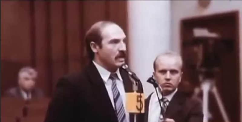 Александр Лукашенко депутат БССР