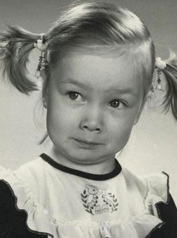 Дарья Мороз в детстве