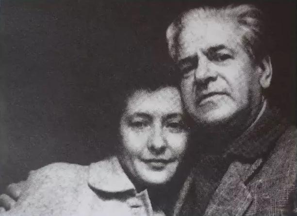 Юлия Друнина с Николаем Старшиновым