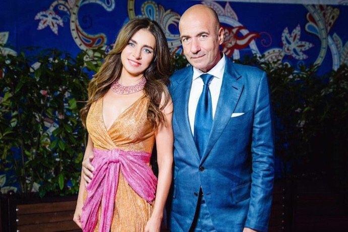 Игорь Крутой со второй женой Ольга