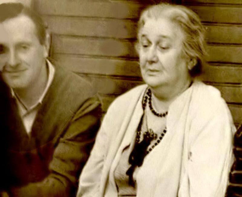 Иосиф Бродский с Анной Ахматовой