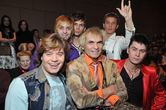 Бари Алибасов вместе со своей группой «На-На»
