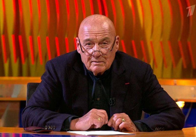 Владимир Познер в авторской передаче на 1 канале