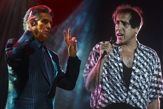 Адриано Челентано с Тото Кутуньо