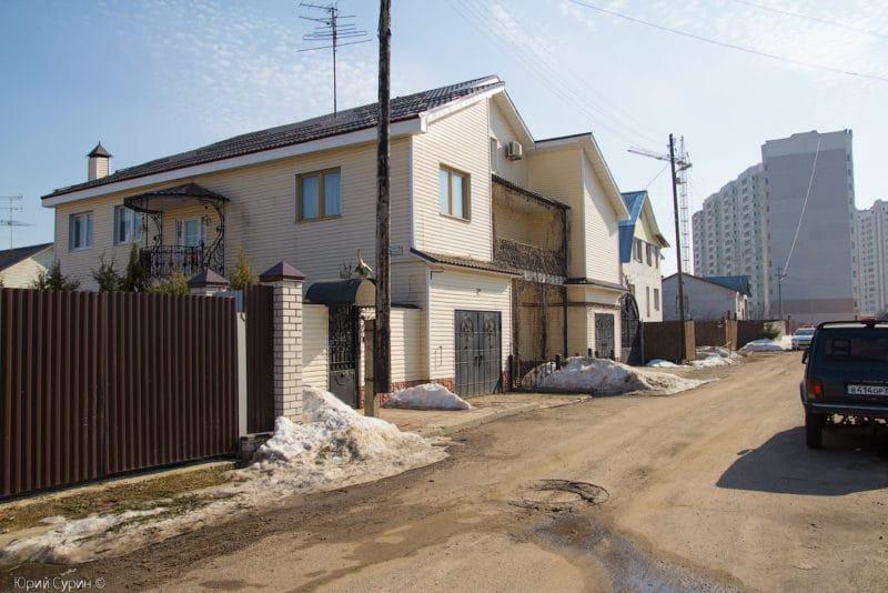 Дом в котором произошло нападение на Михаила Круга