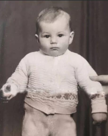 Гела Месхи в детстве