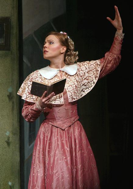Мария Куликова в театре