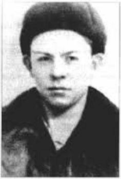 Валентин Распутин в детстве