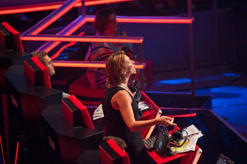 Диана Арбенина в шоу «Голос країни»
