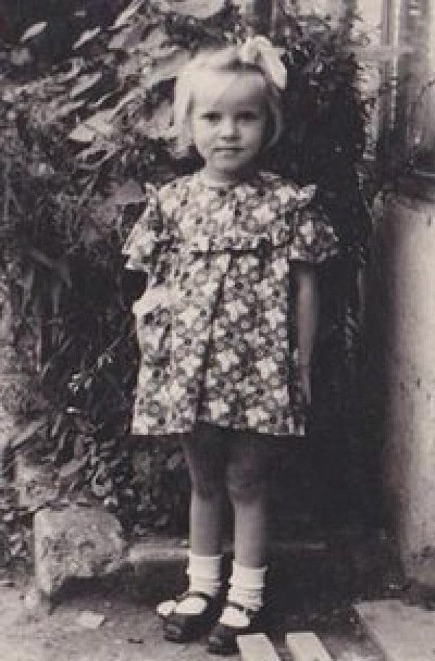 Валентина Матвиенко в детстве