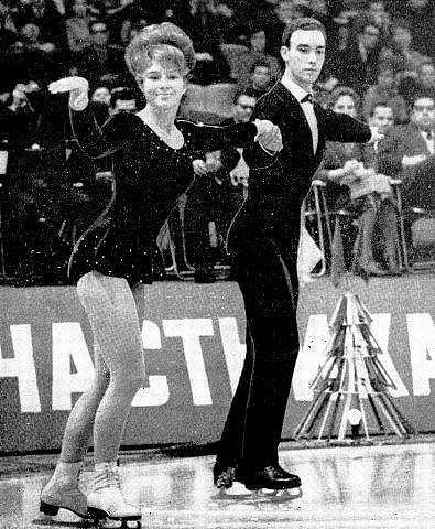 Татьяна Тарасова на льду