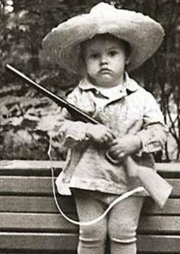 Екатерина Андреева в детстве