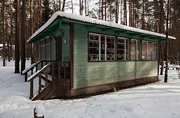 Дом Анны Ахматовой в поселке Комарово
