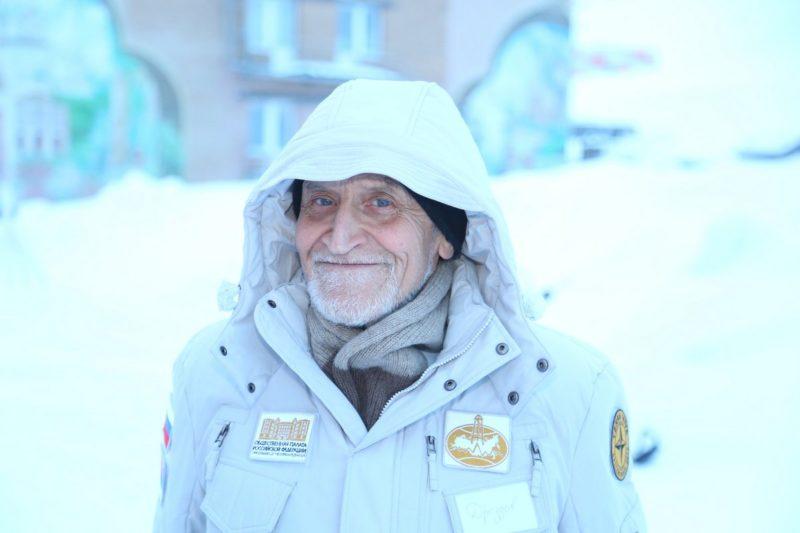 Николай Дроздов в экспедиции