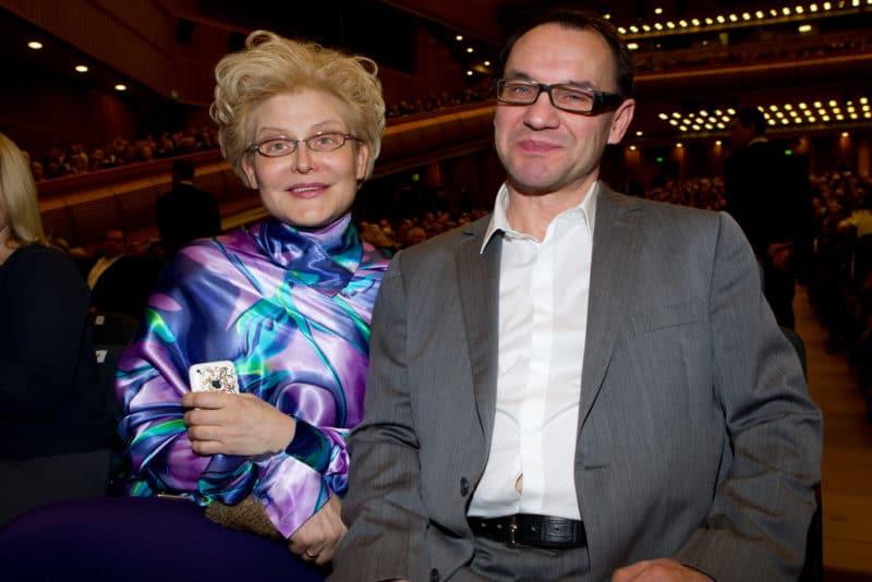 Елена Малышева с мужем Игорем Малышевым
