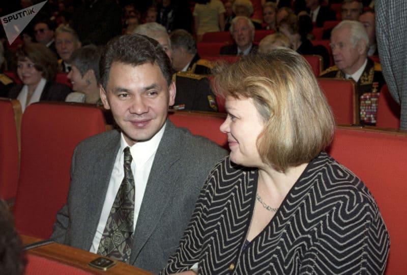 Сергей Шойгу с женой Ириной Антипиной