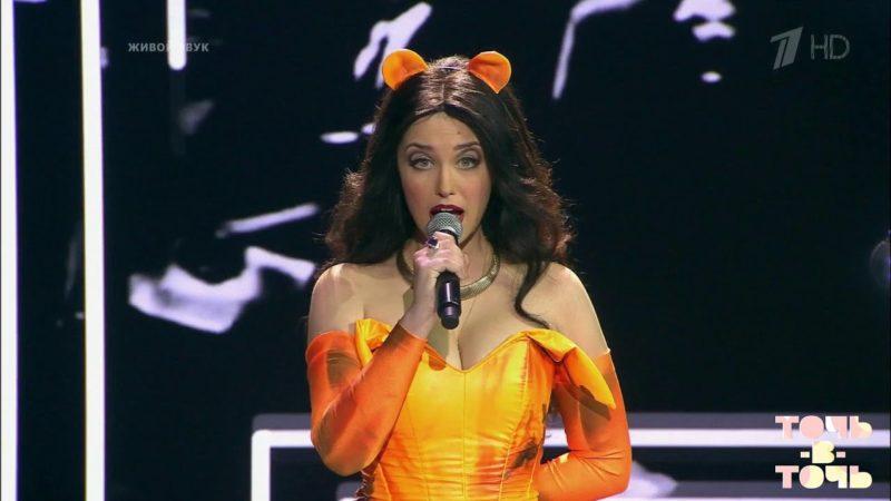 Аглая Шиловская в шоу «Точь-в-точь»