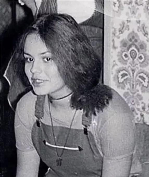Екатерина Андреева в юности