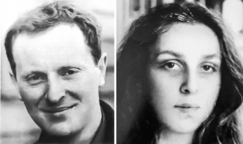 Иосиф Бродский и Марина Басманова