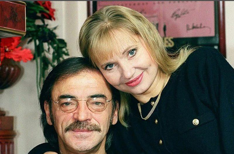 Михаил Боярский с женой Ларисой Луппиан