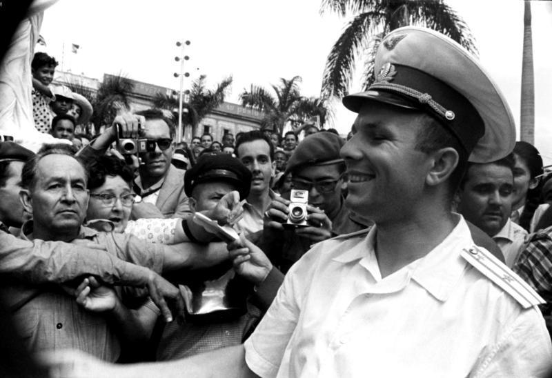 Юрий Гагарин в «Миссии мира»