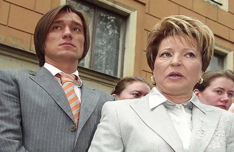 Валентина Матвиенко с сыном Сергеем