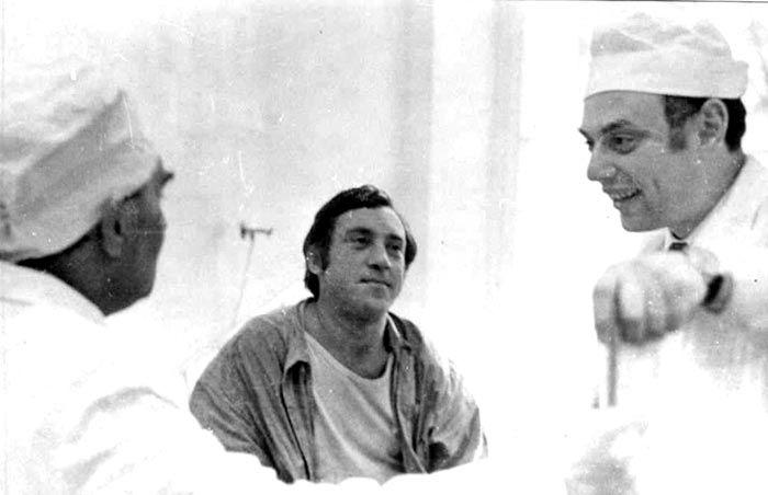Владимир Высоцкий в больнице