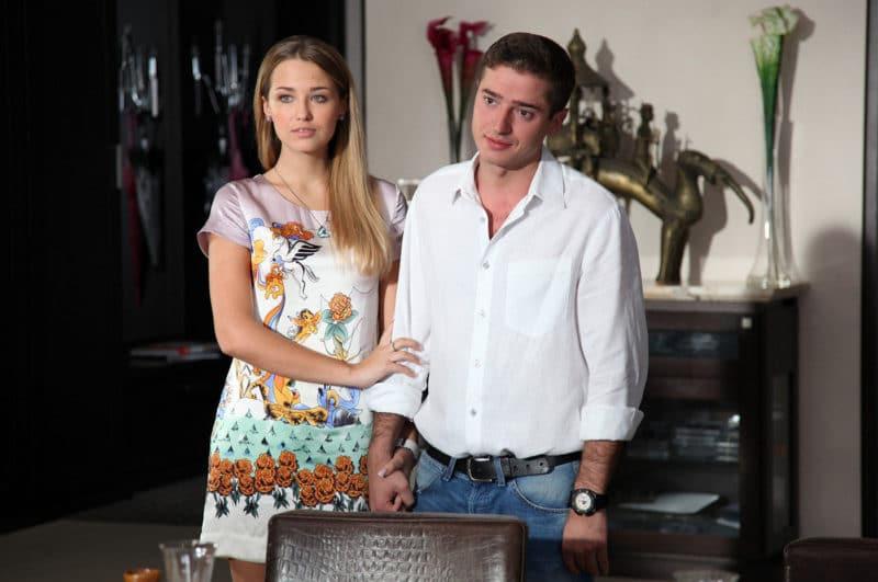 Аглая Шиловская с Иваном Стебуновым