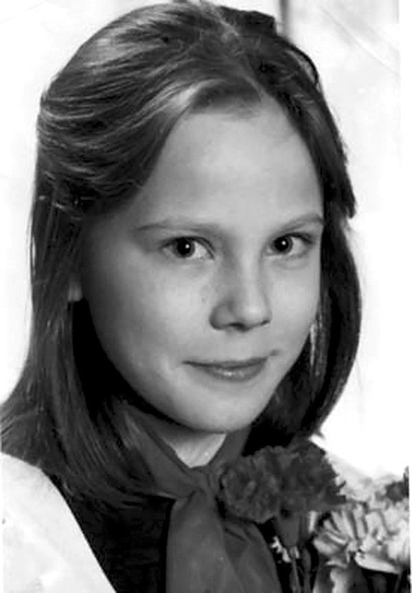 Мария Куликова в детстве