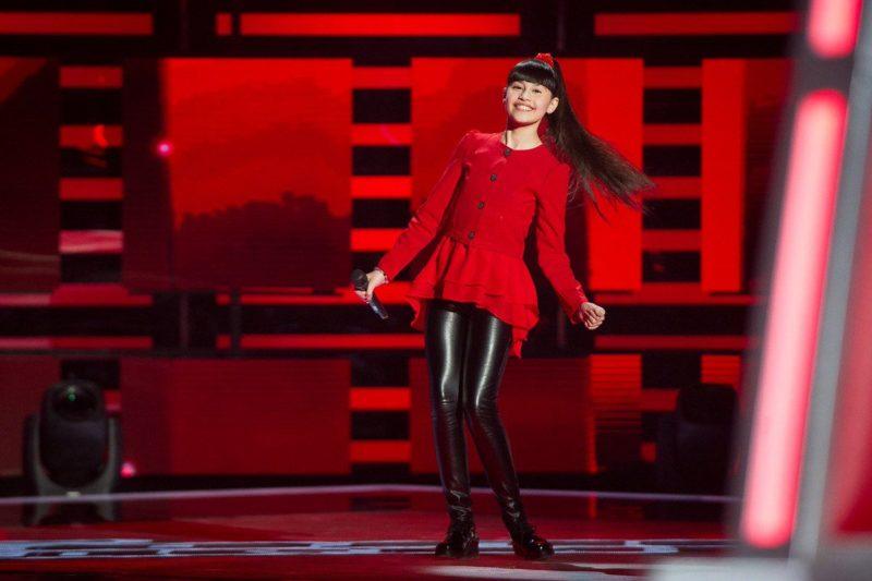 Диана Анкудинова в шоу «Голос. Дети»