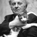 Иосиф Бродский с кошкой