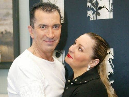 Александр Буйнов с третьей женой Аленой Гутман