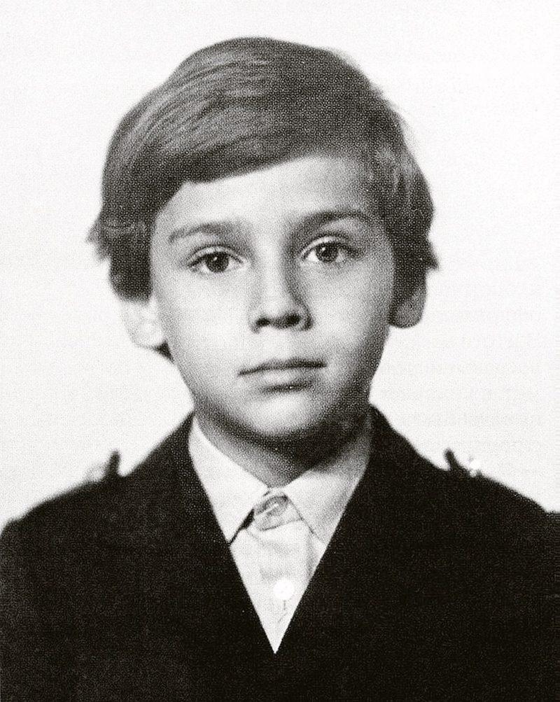 Максим Галкин в детстве