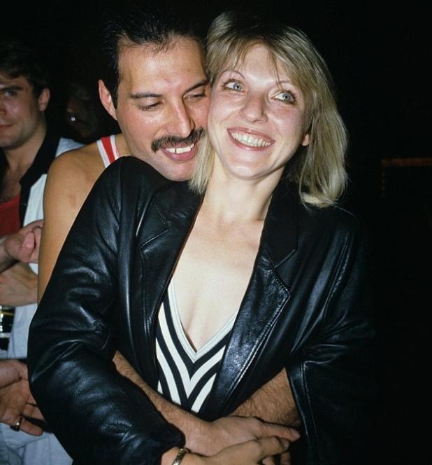 Фредди Меркури с женой
