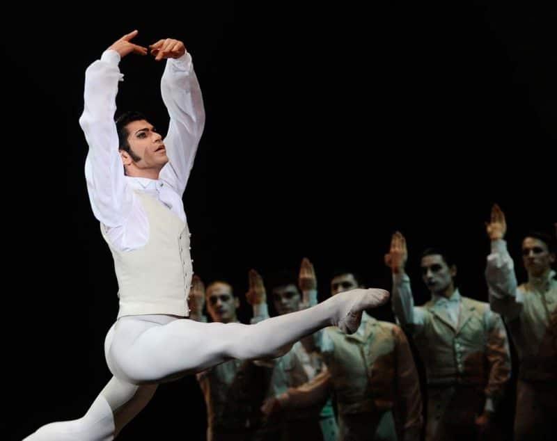 Николай Цискаридзе на сцене