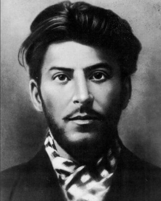 Иосиф Джугашвиили в молодости