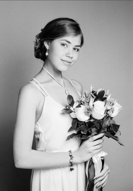 Мария Захарова в юности